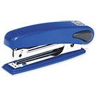 Степлер № 10 до 10 листов Sax 219 Корпус металло-пластиковый синий С антистеплером